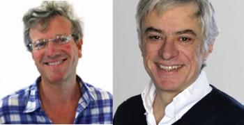 Stéphane Veyrat, directeur d'Un Plus Bio et Philippe Bertrand, journaliste à France Inter.