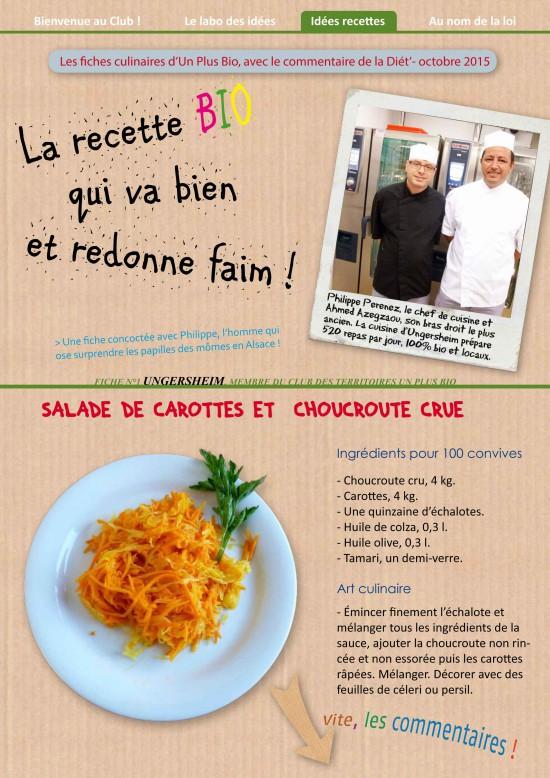 Cuisiner la choucroute crue – Fatras Cuisine Photographique