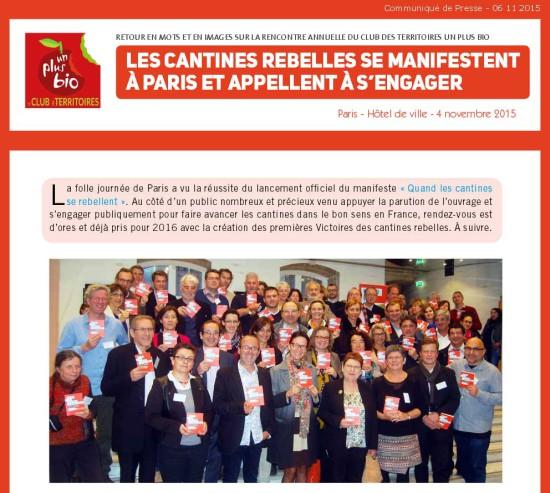 communiqué rencontre club des territoires manifeste paris