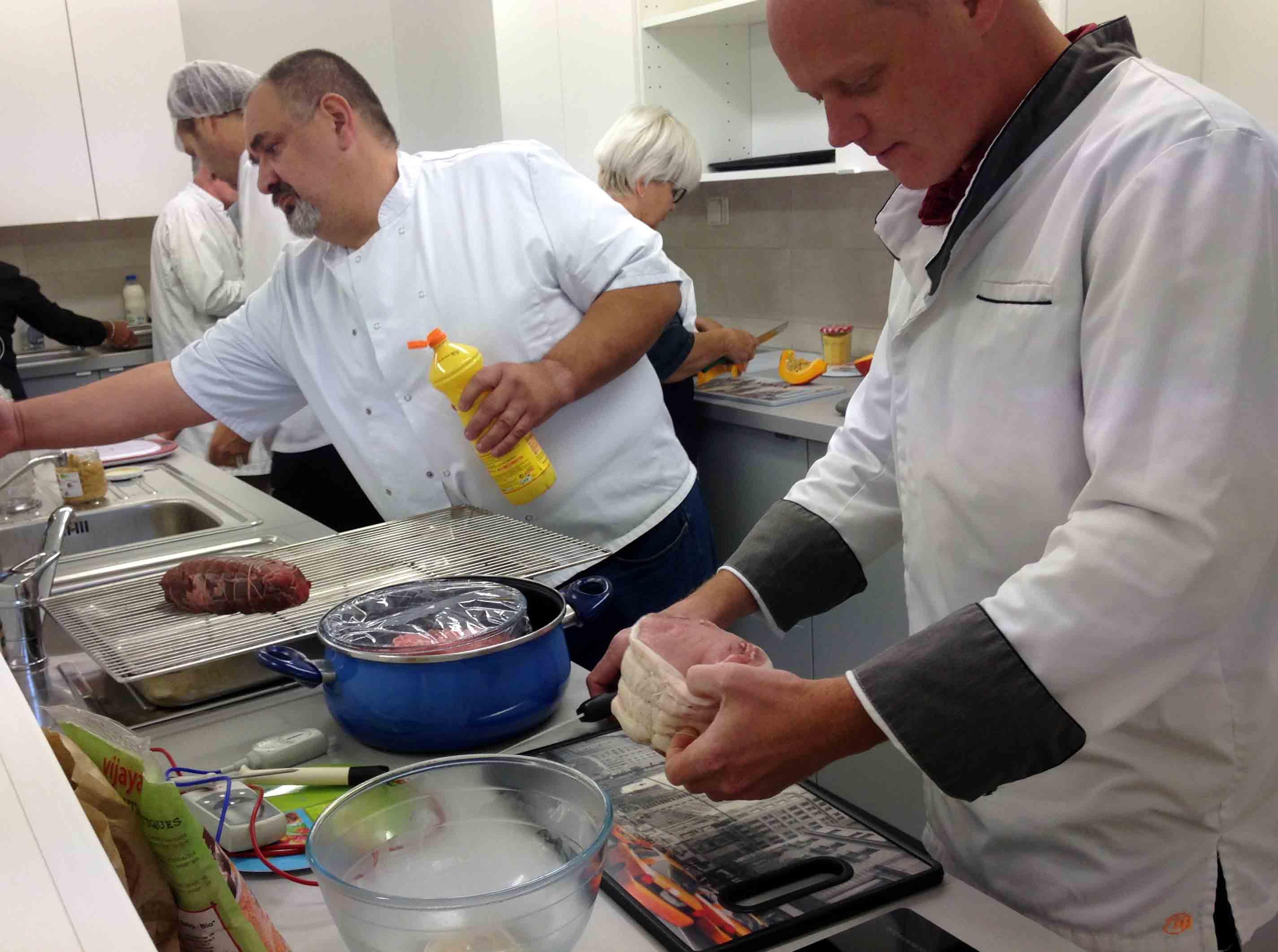Les formations vers une nouvelle cuisine collective continuent un plus bio premier r seau - Formation de cuisine collective ...