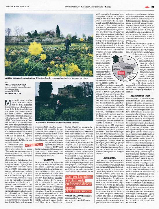 Libération Un Plus Bio 2