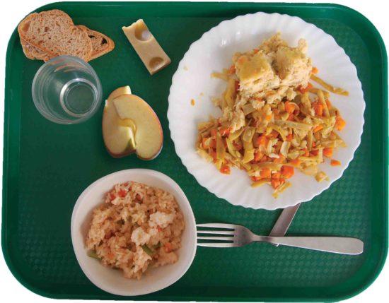 Plateau repas garni montageb